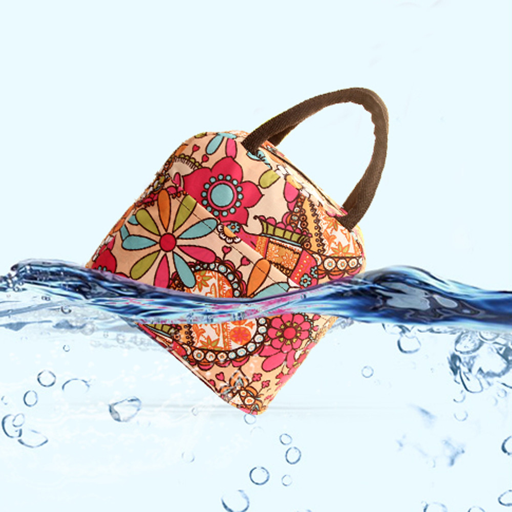 Fashion New Portable Thermal Waterproof Thickness Picnic School Lunch Bag Office Cooler Box Handbag Pouch