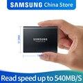 Samsung T5 портативный ssd жесткий диск ssd 2 ТБ 1 ТБ 500 Гб 250 Внешние накопители USB3.1Gen2 и обратная совместимость с USB для ПК