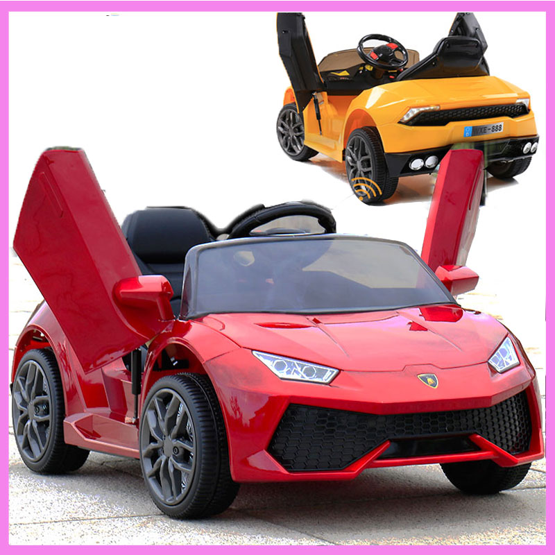 Four Wheels Remote Control Car Electric Vehicle for Children Kids 12V Ride on Eletric RC Diving Cars Licensed Battery Power MP3