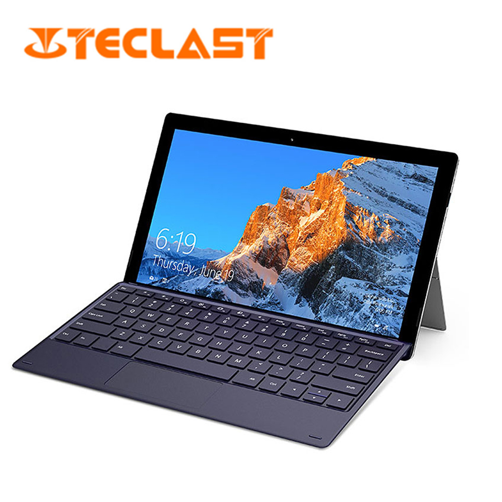 Teclast X4 2 In 1 Tablet Laptop 11.6 Inch Windows 10 Celeron N4100 Quad Core 1.10GHz 8GB RAM 256GB SSD HDMI Tablet