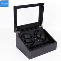 Watch winder box safe japan 2 motor rotate automatic watches storage display cabinet maquinaria reloj cajas fuertes uhr beweger