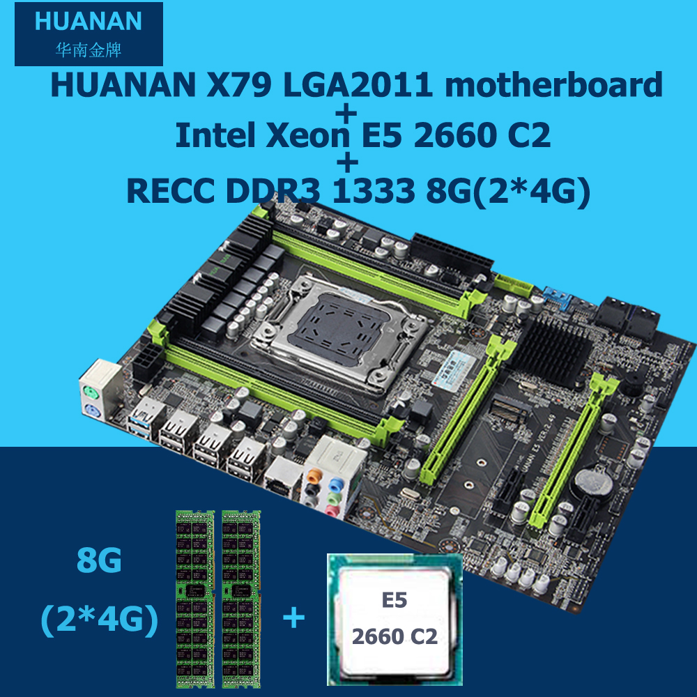 All Tested New HUANAN V2 49 X79 Motherboard CPU RAM Combos X79 LGA2011 Motherboard Xeon E5