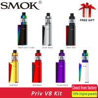 100 Original Vape Kit SMOK Priv V8 Kit With 3ml TFV8 Baby Tank 60W PRIV V8
