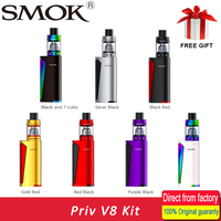 100 Original Vape Kit SMOK Priv V8 Kit With 3ml TFV8 Baby Tank 60W PRIV V8