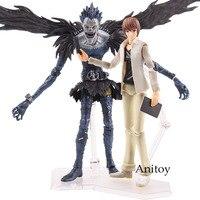 Anime Death Note Figutto Figma 009 Ryuk Figma 008 Yagami Light Ryuuku Ryuk PVC Action Figure Collection Model Toy Doll