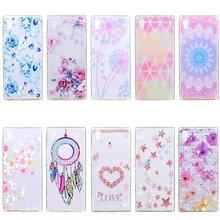 Soft TPU Case For Coque Sony Xperia XA Case Cover Silicone Back Cover For SONY Xperia XA 1 Ultra Case Fashion Patterned смартфон sony xperia xa ultra золотой лайм f3211ru n