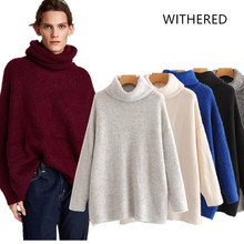 JennyandDave Withered 2018 BTS Autumn and winter turtleneck solid loose  regular 6d64d9e677ab