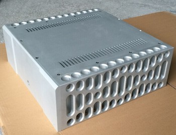 BOLDER style chassis CNC all aluminum power amplifier chassis