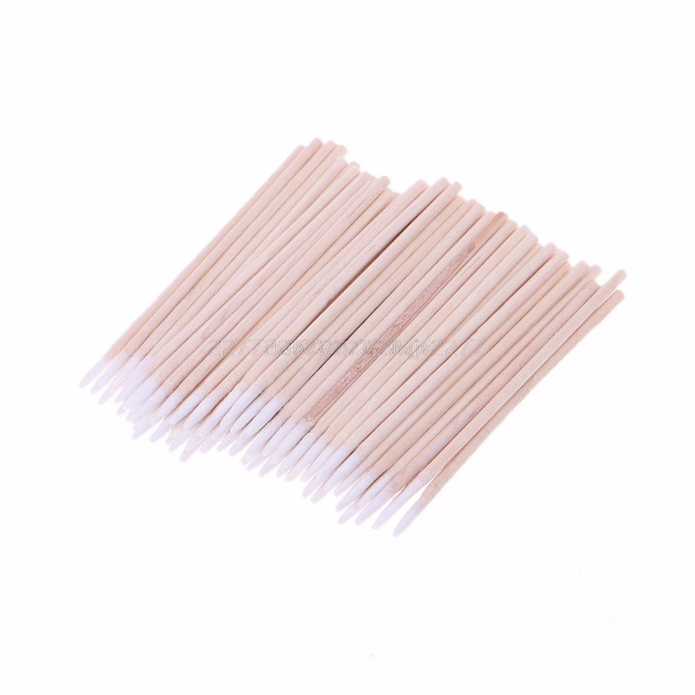 100pcs/pack Cotton Swabs Cleaning Tools For IPhone Samsung Huawei Charging Port Headphone Hole Cleaner Repair My02 19 Dropship