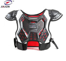 JIAJUN Childrens Professional Support Body Spine Vests Kids Motocross Ski Back Motorcycle Protection