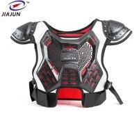 JIAJUN Children's Professional Support Body Spine Vests Kids Motocross Ski Back Support Motorcycle Protection Back