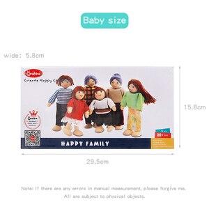 Image 2 - Ruizhi деревянный миниатюрный мебельный набор имитация дома кукольный домик аксессуары детские развивающие игрушки Детский подарок на день рождения RZ1077