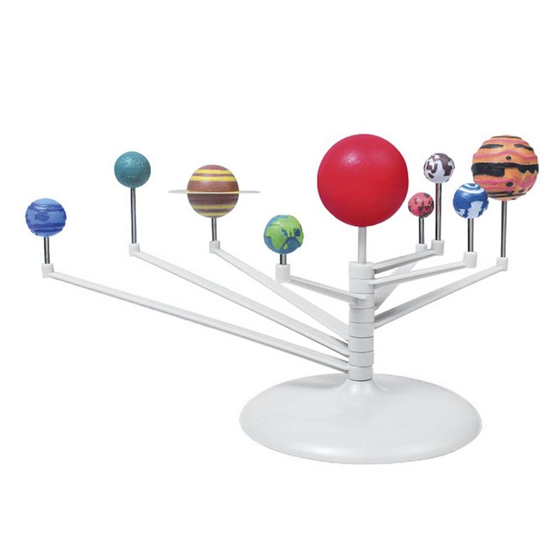 DIY 3D Simulation Solar System Nine Planets Scale Model Explosions Toys @Z242