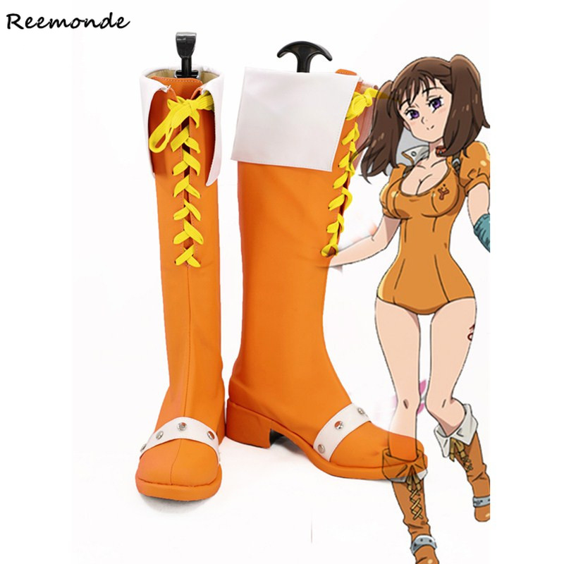 The Seven Deadly Sins Cosplay Costumes Serpent s Sin Of Envy Diane Shoes For Women Girls
