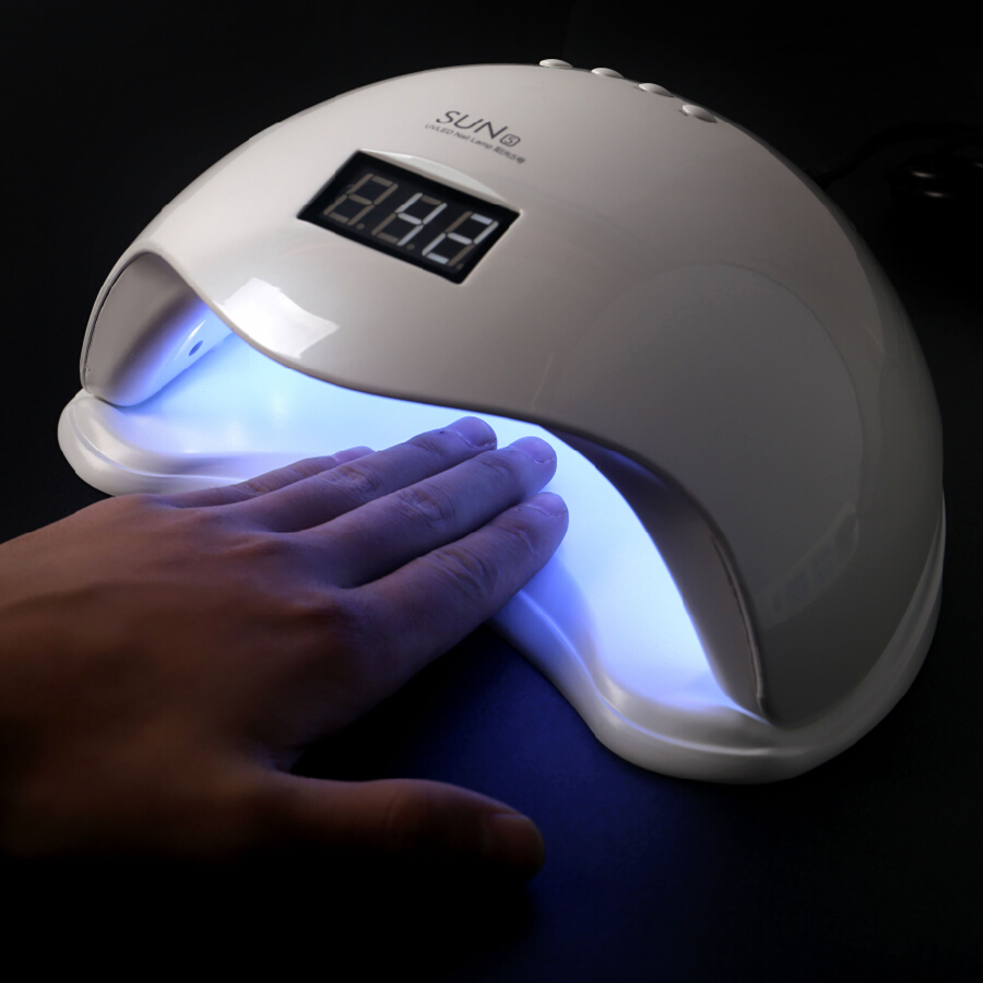 New SUN5 LED Nail UV Lamp For Nails Dryer 36W SUN Light