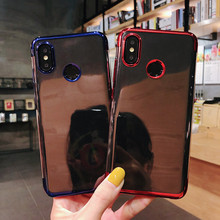 Plating TPU phone Case on for Xiaomi 8 Lite pocophone F1 6X