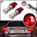 2pcs 360-Degree Brilliant Red 3030 High Power 7440 7441 7443 7444 T20 LED Replacement Bulbs For Car Brake/Tail Lights