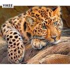 b026 3D Cross Stitch Embroidery Painting,Diamond Embroidery Animals,Diamond Painting Leopard