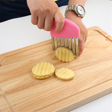 1 pcs Stainless Steel Potato Slicer Potato Knife Cutting Tools Creative Vegetable Cutter Kitchen Convinient Gadget Drop Shipping