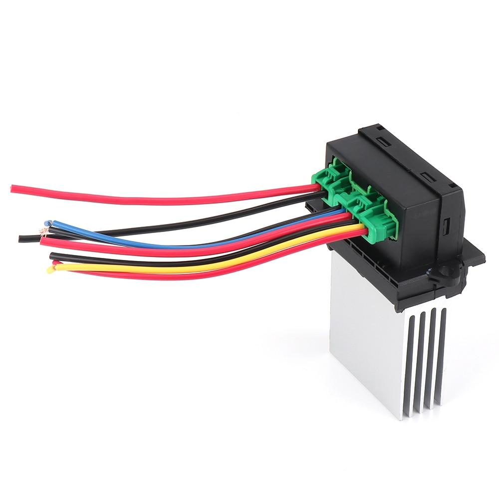 Heater Blower Fan Resistor Connector//Wire For Citroen C2 C3 C5 Peugeot Renault