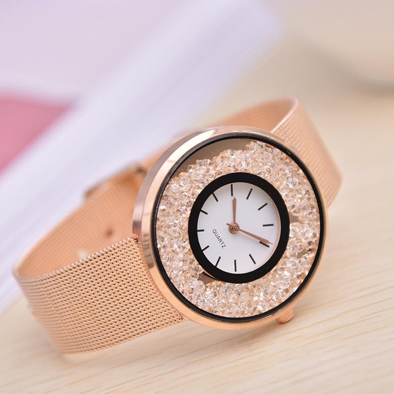 Fashion Ladies Lady Watch Noble Beige Watch Ladies Trend Quartz Watch Factory A Generation Of Hair