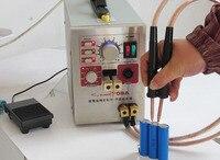 1,5 кВт высокомощный точечный сварочный аппарат и паяльная станция с универсальной сварочной ручкой для сварки и отпаривания аккумуляторов