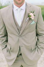 Two Buttons Men Suits Slim Fit Notch Lapel Groomsmen Groom Men Wedding Suits Classic Style Men Tuxedos (jacket+pant+vest)