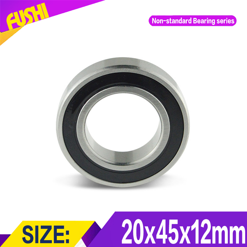 204512 Non Standard Ball Bearings ( 1 PC ) Increase Height of 6004 Outer Ring 204512RS 204512-2RS Bearing Size 20*45*12 mm