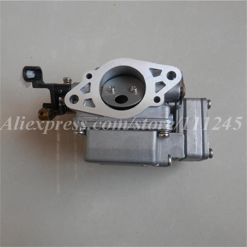 CARBURETOR  NEW TYPE FOR YAMAHA HANGKAI HIDEA PARSUN YAMA &MORE 9.9F 15F 18F 2 STROKE 9.9HP 15HP  OUTBOARD  MOTOR 821854t5 center carburetor for mercury mercruiser outboard engine 55hp 60hp 2 stroke 3 cylinder model 821854a 5