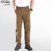 High Elasticity Cargo Pants Men Fishing Clothes Multi Pocket Casual Pants For Male Fashion Military Trousers