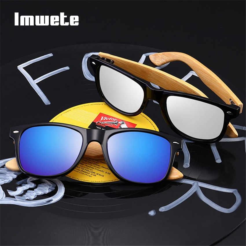 94c91116cfe ... Retro Wood Sunglasses Men Women Vintage Bamboo Sunglass Brand Design  Sport Goggles Blue Gold Mirror Wooden ...