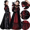 Children Girls Princess Vampire Costumes Children S Day Halloween Costume For Kids Long Dress Carnival Party