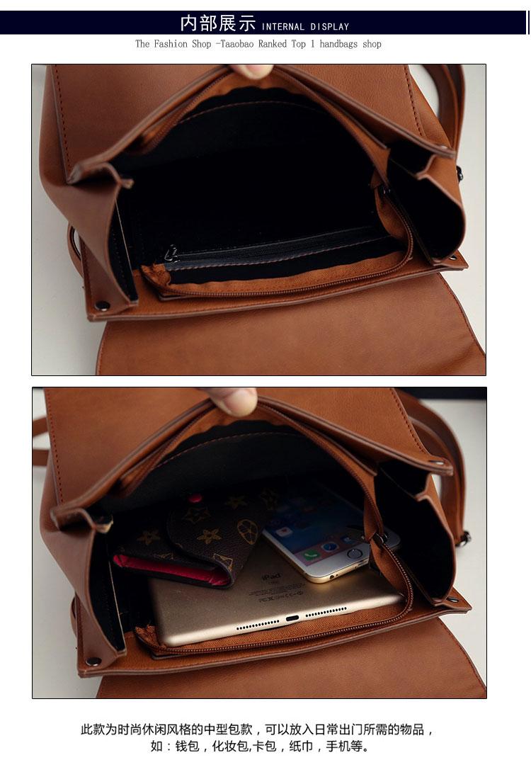 Retro Women's Rucksack Bag 12