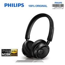 Philips Original M2BT/00 Hohe Auflösung Drahtlose Bluetooth Headset HIFI NFC Headset mit Mikrofon Offiziellen Überprüfung