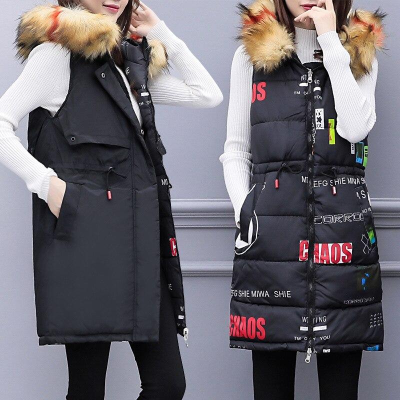 À Et Vêtements Coton 2018 face Deux Nouveau Capuche De Tendance Gilet Taille Femmes Automne D'hiver Grande Noir 4qOO5wS