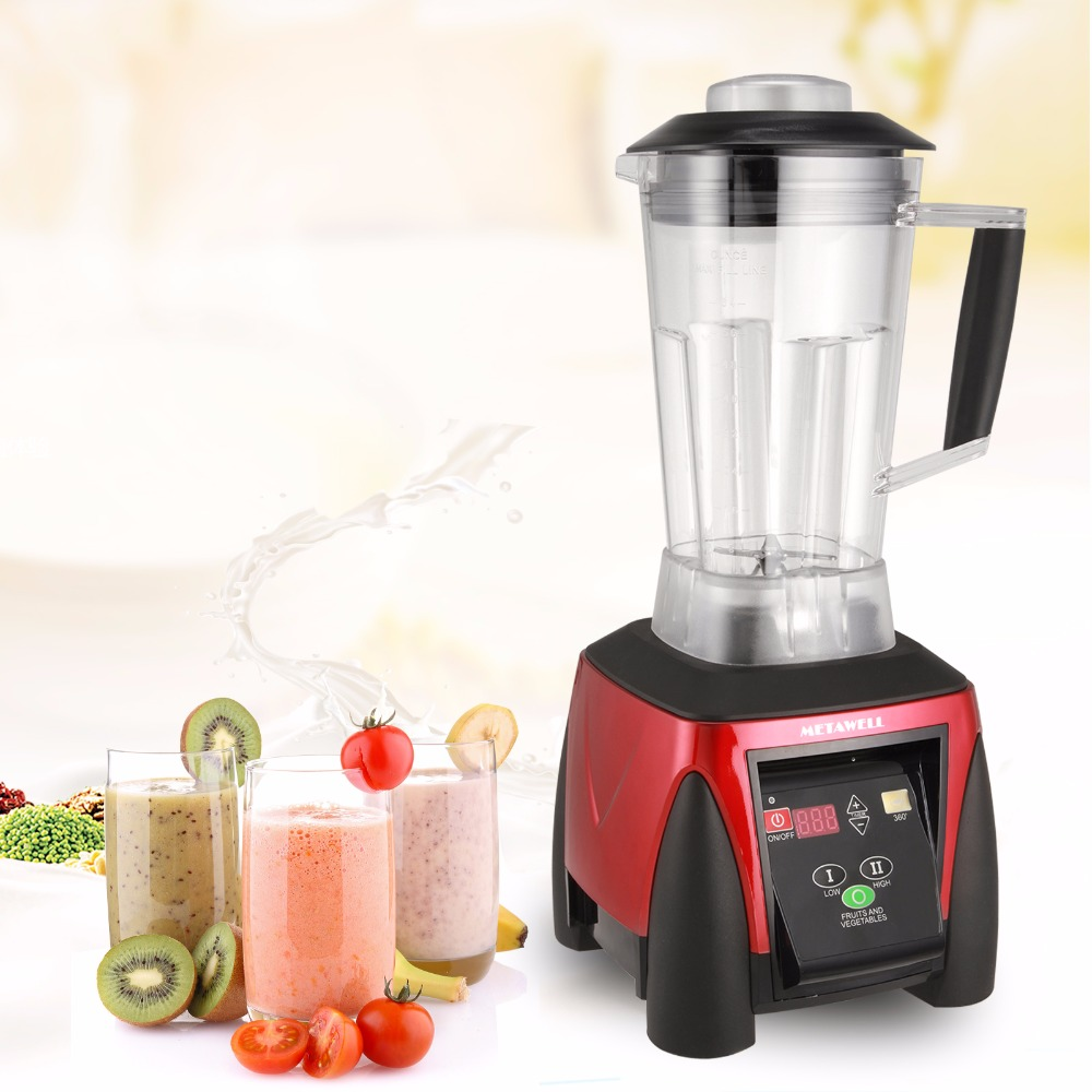 3HP 2200W 1500W font b Food b font Blender Fruit Meat Mixer Machine Milkshake Machine Multifunctional