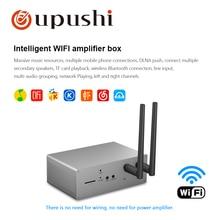 Wifi ceiling speaker 6w bluetooth loudspeaker 4.5 inch in-ceiling speakers app wifi amplifier box for Oupushi smart home device