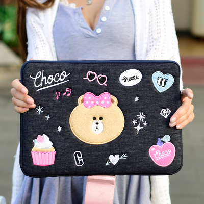 CUTE PATTEM LATOP BAG SLEEVE FASHION FOR NOTEBOOD 13.3 14 15 15.6INCHCUTE PATTEM LATOP BAG SLEEVE FASHION FOR NOTEBOOD 13.3 14 15 15.6INCH