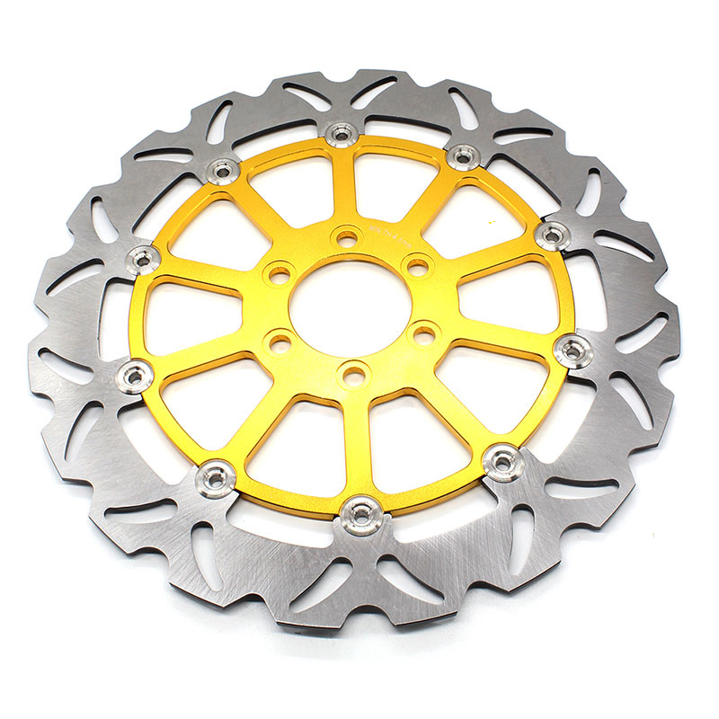FXCNC Motorcycle Brake Disc 320mm Floating Rear Brake Disc Rotor For KTM 125 200 390 DUKE 2013-2016 Motorbike Front Brake Disc new wave rear brake disc rotor for ktm duke 125 2011 2012 2013 2014 duke200 2012 2014 duke390 13 14
