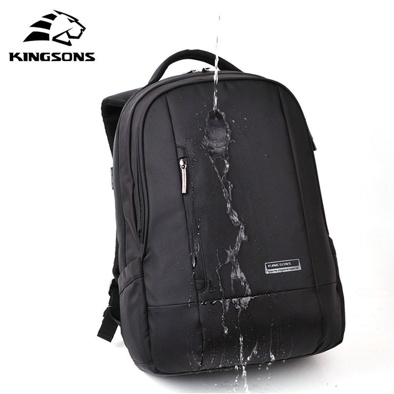 2017 Kingsons Brand 15.6 Inch Laptop Bag Backpack Men Large Capacity Nylon Compact Men's Backpacks Unisex Women Bagpack 2017 xqxa brand 15 6 inch laptop bag backpack men large capacity oxford compact men s 17inch backpacks unisex women bagpack