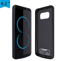 Battery Charger Case For Samsung Galaxy S8 Plus 5500mAh Power Bank Case External Backup Battery Charging Case Cover Freeshipping