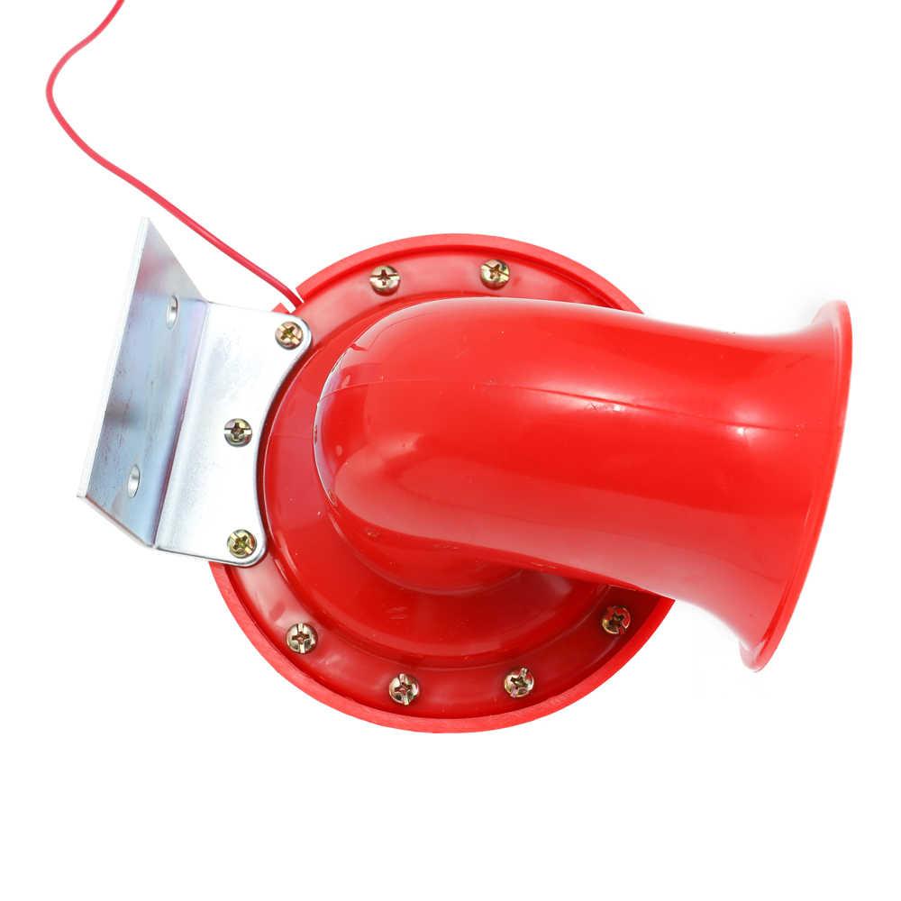 Громкий 200DB 12V красный Электрический Bull воздушный рожок оригинальность звук для автомобилей, мотоциклов, грузовиков Лодка