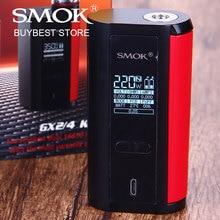 SMOK origine GX2/4 TC MOD 2 Type 350 W ou 220 W Boîte MOD powred par 4x/2×18650 Batterie Cigarette Électronique pour 25mm Réservoir atomiseur