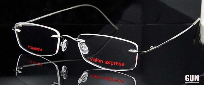 Titanium Flexible Rimless Eyeglass (6)