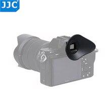 JJC EyeCup okular dla SONY A7R IV A7R III A7 III A7 II A7S II A7R II A7R A7S A7 A58 A99 II A9 II kamera zastępuje Sony FDA EP16