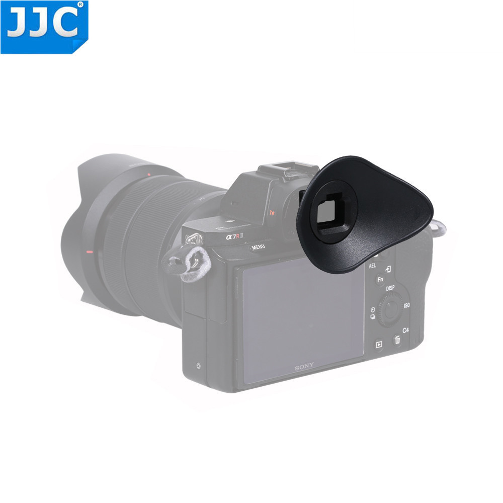 JJC Camera Eyepiece Viewfinder Eyecup for Sony A7RIII/A7II/A7SII/A7RII/A7R/A7S/A7A58 Replaces FDA-EP16 Eye Cup