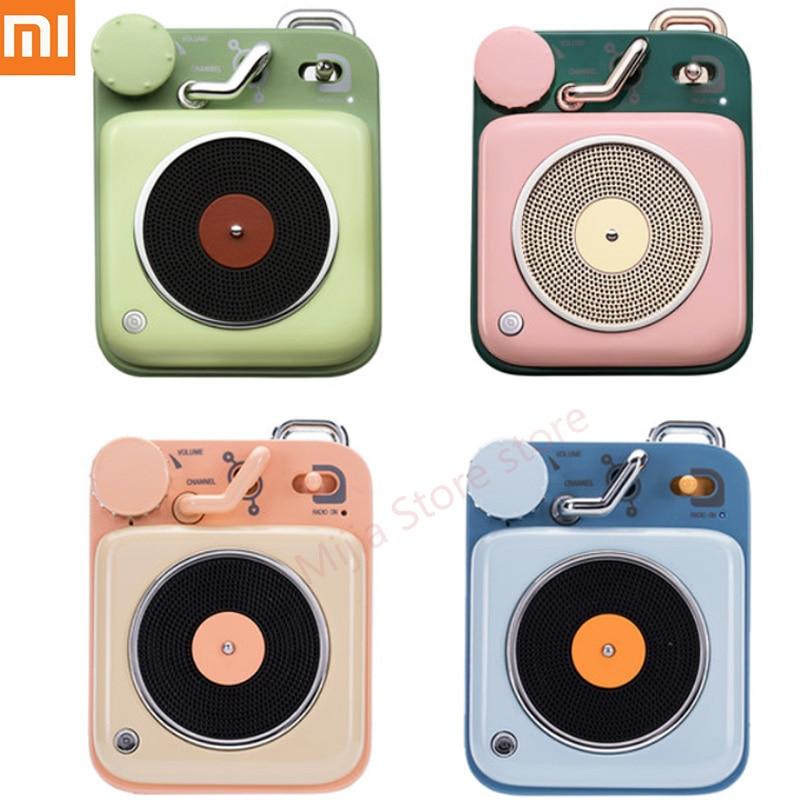 Xiaomi Mijia Cat King Atomic Record Player B612 Bluetooth Intelligent Audio Portable Zinc Aluminum shell speaker