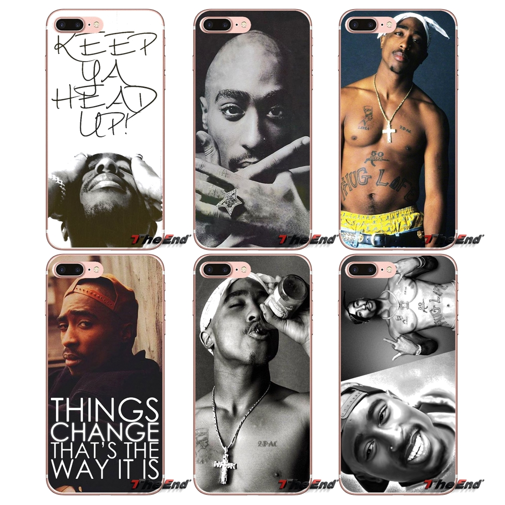 Phone Bags & Cases For Galaxy A3 A5 A7 On5 On7 2015 2016 2017 Grand Alpha G850 Core2 Prime S2 I9082 Soft Capa Coque Pop 2pac Tupac Shakur Cellphones & Telecommunications