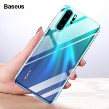 Baseus Transparent Phone Case For Huawei P30 Pro Fundas Soft TPU Silicone Protective Back Cover p30 p30pro Coque