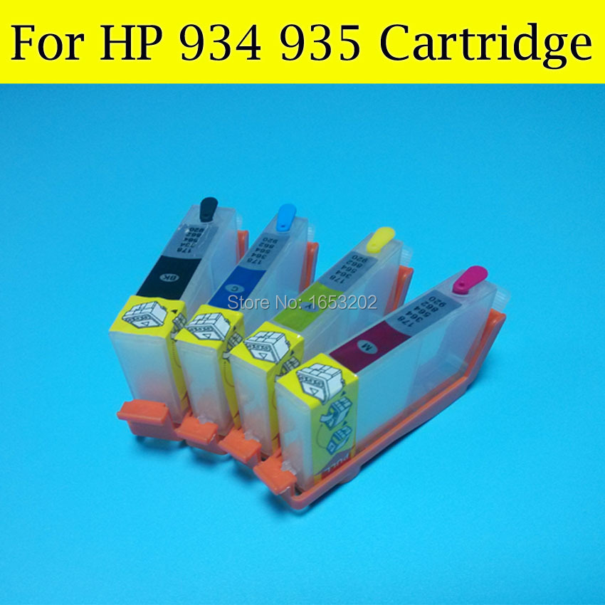 Printer Spare Parts HP934 HP935 934 935 934Xl 935Xl Ciss System for HP Officejet 6230 6830 Printers With Arc Chips